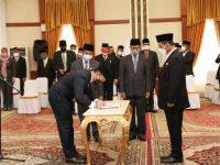 Gubernur Lantik Pejabat Eselon III, IV dan JFT Dilingkup Pemprov Kepri