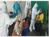 58 Orang PMI di berikan Vaksinasi Oleh Tim Vaksinasi Mobil Gurindam 12