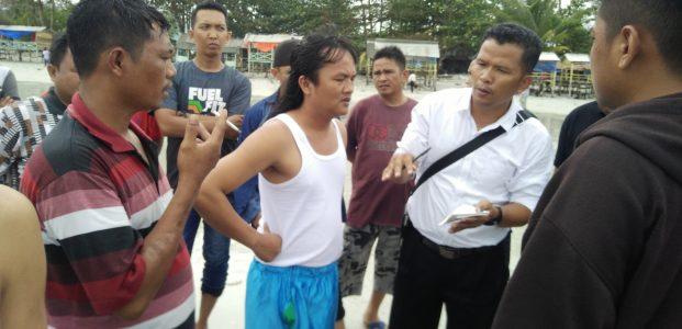Daniel Sihaan (22), Pengunjung Pantai Trikora Tenggelam