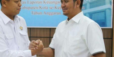 Predikat WTP Bintan di Tingkat Provinsi dan Nasional