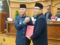 DPRD Menggelar Rapat Paripurna Terkait Rekomendasi Terhadap LKPj Wali Kota Tanjungpinang Tahun 2018