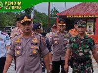 Wakili Dandim 0315/Bintan, Danramil 02/Bintim Hadiri Apel Kesiapsiagaan Penanggulangan Bencana Alam di Kabupaten Bintan