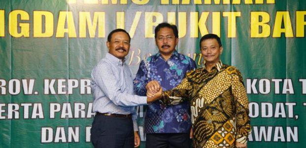 Temu ramah bersama Pangdam I/Bukit Barisan, Nurdin: Bersama Jaga Kepri Tetap Kondusif
