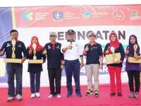 Gerakan Peduli TBC Menuju Indonesia Sehat di Kota Tanjungpinang semarak